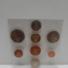 Monnaies anciennes de Europe: COLECCION PENIQUES REINO UNIDO SIN CIRCULAR EN BLISTER 1984. Lote 286768893