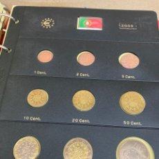 Monedas antiguas de Europa: COLECCIÓN DE MONEDAS PORTUGAL 2008 10€-10€-2€-1€-0,50€-0,20€-0,10€-0,05€-0,02€-0,01€. Lote 287241133