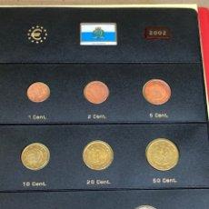 Monedas antiguas de Europa: COLECCIÓN DE MONEDAS SAN MARINO 200210€-10€-2€-1€-0,50€-0,20€-0,10€-0,05€-0,02€-0,01€. Lote 287242228