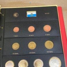 Monedas antiguas de Europa: COLECCIÓN DE MONEDAS SAN MARINO 2005 10€-2€-2€-1€-0,50€-0,20€-0,10€-0,05€-0,02€-0,01€. Lote 287246858