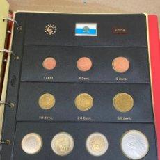 Monedas antiguas de Europa: COLECCIÓN DE MONEDAS SAN MARINO 2006 10€-10€-2€-1€-0,50€-0,20€-0,10€-0,05€-0,02€-0,01€. Lote 287247608