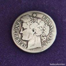 Monedas antiguas de Europa: MONEDA DE FRANCIA. 1871. CERES. 2 FRANCOS. PLATA 900.. Lote 287309533