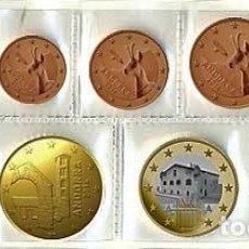 Monedas antiguas de Europa: FULL EURO SET-ANDORRE FULL COMPLET- AÑO : X 8 -COIN ROMÜNZEN MONNAIES-UNCIRCULATED-(DE 2€ A .0,01€). Lote 263258250