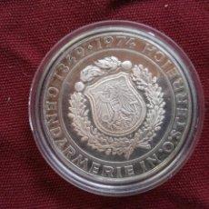 Monnaies anciennes de Europe: AUSTRIA .. 50 SCHILLING 1974 - PLATA ... 125 ANIVERSARIO POLICIA. Lote 287594668