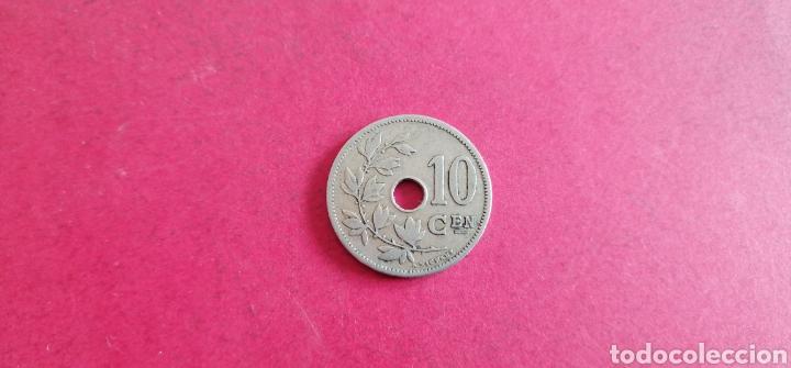 Monedas antiguas de Europa: 10 centimes de Bélgica 1904 - Foto 2 - 287675978