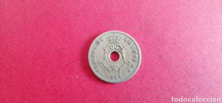 10 CENTIMES DE BÉLGICA 1904 (Numismática - Extranjeras - Europa)