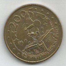 Monnaies anciennes de Europe: DISNEYLAND RESORT PARIS 2005 COLLECTION NATIONALE MONNATE DE PARIS MEDAILLE OFFICIELLE. Lote 287731053