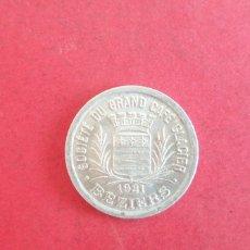 Monete antiche di Europa: 25 CENTIMES BEZIERS 1921. Lote 287765163