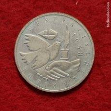 Monedas antiguas de Europa: MONEDA PLATA ALEMANIA 10 MARCOS 1998 EBC ORIGINAL C8. Lote 287914038
