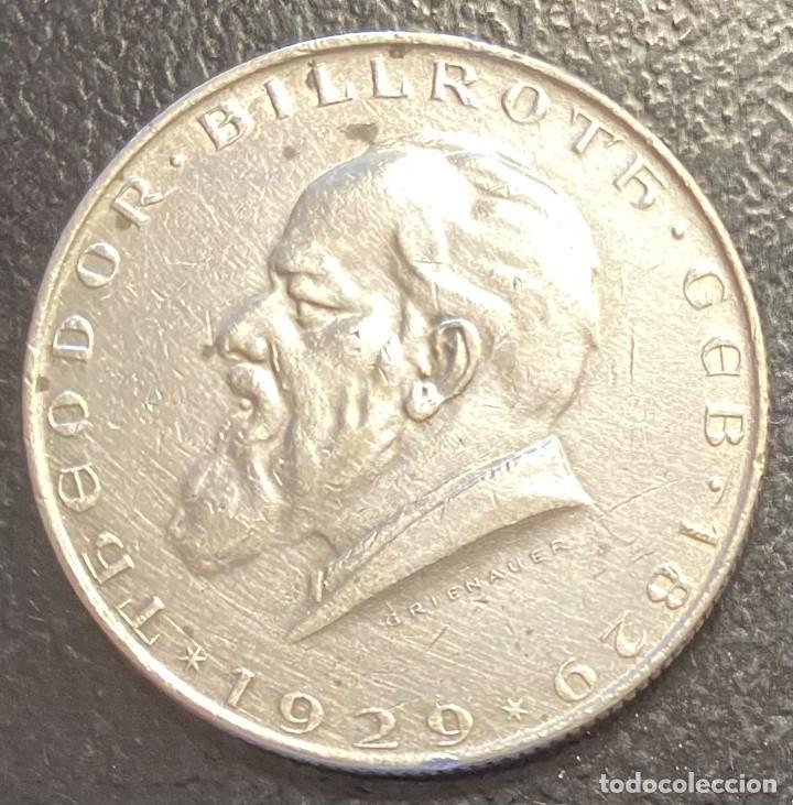 AUSTRIA, MONEDA DE PLATA DE 2 CHELINES, AÑO 1929 (Numismática - Extranjeras - Europa)