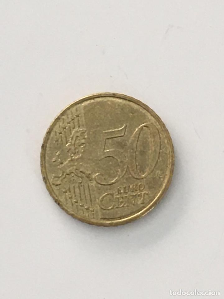 Monedas antiguas de Europa: 50 céntimos de euro de Andorra - Foto 2 - 288136383