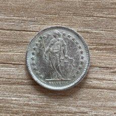 Monedas antiguas de Europa: 1/2 FRANC 1963 SUIZA. Lote 288142278