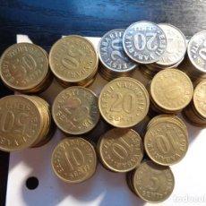 Monnaies anciennes de Europe: LOTE DE 152 MONEDAS DE ESTONIA. Lote 288305863