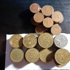 Monnaies anciennes de Europe: LOTE DE 135 MONEDAS DE LETONIA. Lote 288435933