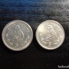 Monnaies anciennes de Europe: LOTE DE 2 MONEDAS DE GIBRALTAR. Lote 288436033