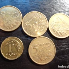 Monnaies anciennes de Europe: LOTE DE 5 MONEDAS DE POLONIA. Lote 288437183