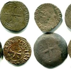 Monedas antiguas de Europa: 4 MONEDAS, 2 MEDIEVALES FRANCESAS, 1 DE PORTUGAL ANTIGUA Y OTRA A CLASIFICAR. Lote 288603338