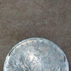 Monedas antiguas de Europa: 5 FRANCS 1978 REPÚBLICA FRANCIA. Lote 288618298