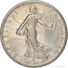 Monedas antiguas de Europa: [#371898] MONEDA, FRANCIA, SEMEUSE, FRANC, 1912, PARIS, EBC, PLATA, KM:844.1, GADOURY:467. Lote 289214478