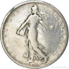 Monedas antiguas de Europa: [#371886] MONEDA, FRANCIA, SEMEUSE, FRANC, 1898, PARIS, BC+, PLATA, KM:844.1, GADOURY:467. Lote 289214798