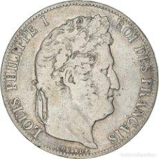 Monedas antiguas de Europa: [#371885] MONEDA, FRANCIA, LOUIS-PHILIPPE, 5 FRANCS, 1846, BORDEAUX, BC+, PLATA, KM:749.7. Lote 289215403