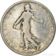 Monedas antiguas de Europa: [#371890] MONEDA, FRANCIA, SEMEUSE, FRANC, 1904, PARIS, BC+, PLATA, KM:844.1, GADOURY:467. Lote 289215473