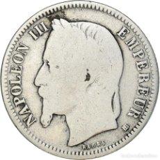 Monedas antiguas de Europa: [#371914] MONEDA, FRANCIA, NAPOLEON III, NAPOLÉON III, FRANC, 1870, STRASBOURG, BC. Lote 289215788