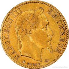 Monedas antiguas de Europa: [#181205] MONEDA, FRANCIA, NAPOLEON III, 10 FRANCS, 1865, STRASBOURG, BC+, ORO, KM:800.2. Lote 289227868