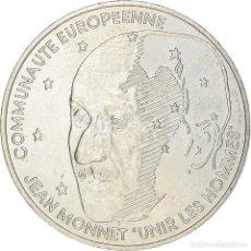 Monedas antiguas de Europa: [#220337] MONEDA, FRANCIA, JEAN MONNET, 100 FRANCS, 1992, PARIS, EBC+, PLATA, KM:1120. Lote 289228528