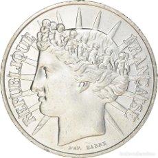 Monedas antiguas de Europa: [#220334] MONEDA, FRANCIA, 100 FRANCS, 1988, PARIS, SC, PLATA, KM:966A, GADOURY:903. Lote 289228568