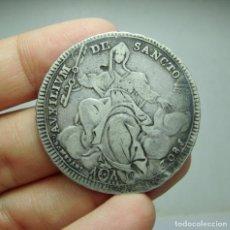 Monedas antiguas de Europa: 1 ESCUDO. PLATA. PIO VII. ESTADOS PONTIFICIOS - 1802. Lote 289256248