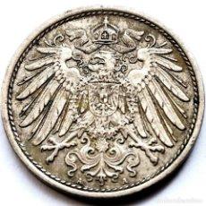 Monedas antiguas de Europa: ⚜️ 10 PFENNIG 1905 A. ALEMANIA. 00B1. Lote 289367138