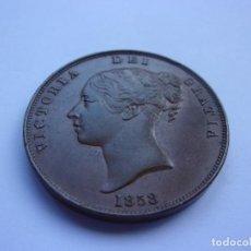 Monedas antiguas de Europa: 5SCC14 REINO UNIDO VICTORIA 1 PENNY 1858. Lote 289368548