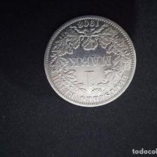 Monedas antiguas de Europa: 1 MARCO DE PLATA ALEMÁN 1908 - A . GUILLERMO II. Lote 289518938