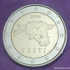 Monedas antiguas de Europa: ESTONIA 2011 2 € EUROS SC MONEDA NORMAL EURO SIN CIRCULAR EESTI UNC. Lote 289751473
