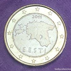 Monedas antiguas de Europa: ESTONIA 2011 1 € EURO SC MONEDA SIN CIRCULAR EESTI UNC. Lote 289752223