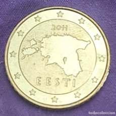 Monedas antiguas de Europa: ESTONIA 2011 50 CTS CÉNTIMOS SC MONEDA 50 EURO CENT SIN CIRCULAR. Lote 289752823