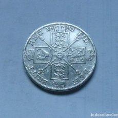 Monedas antiguas de Europa: MONEDA DE PLATA DE UN DOBLE FLORIN DE LA REINA VICTORIA DE GRAN BRETAÑA AÑO 1890 MBC. Lote 289754743