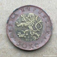 Monedas antiguas de Europa: REPUBLICA CHECA - 50 KORUN 2012. Lote 289894828