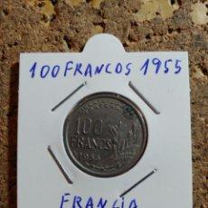 Monedas antiguas de Europa: MONEDA DE FRANCIA DE 100 FRANCOS DEL AÑO 1955. Lote 290031078