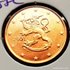 Monete antiche di Europa: ⚜️ SIN CIRCULAR. 5 CÉNTIMOS 2001. FINLANDIA. AF012. Lote 290954398