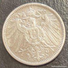 Monete antiche di Europa: ALEMANIA, MONEDA DE PLATA DE 1 MARCO, AÑO 1902F. Lote 291179998