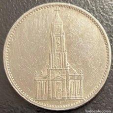 Monedas antiguas de Europa: ALEMANIA, MONEDA DE PLATA DE 5 REICHMARK, AÑO 1935J. Lote 292528003