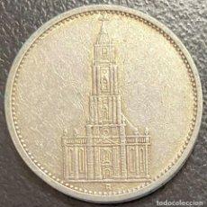 Monedas antiguas de Europa: ALEMANIA, MONEDA DE PLATA DE 5 REICHMARK, AÑO 1935A. Lote 292528283