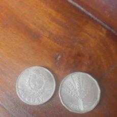 Monedas antiguas de Europa: URUGUAY 1980 Y 1981. Lote 292567303