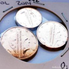 Monete antiche di Europa: ⚜️ SIN CIRCULAR DE SET. MANCHITAS. 1 A 2 CÉNTIMOS 2014. HOLANDA. AF242. Lote 292594863