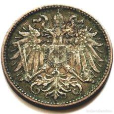 Monete antiche di Europa: ⚜️ 2 HELLER 1897. AUSTRIA. AF259. Lote 293305718