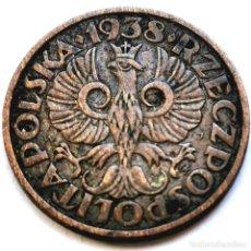 Monete antiche di Europa: ⚜️ 2 GROSZE 1938. POLONIA. AF288. Lote 293307973
