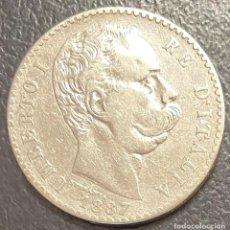 Monete antiche di Europa: ITALIA, MONEDA DE PLATA DE 2 LIRAS, AÑO 1887R. Lote 293367503
