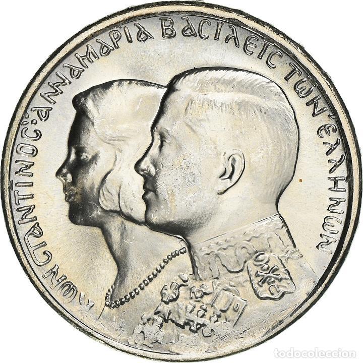 [#950551] MONEDA, GRECIA, CONSTANTINE II, 30 DRACHMAI, 1964, KONGSBERG, SC, PLATA, KM:87 (Numismática - Extranjeras - Europa)